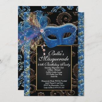 Masquerade Birthday Event Party