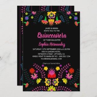 Mexican Fiesta Party Folk Art Flowers
