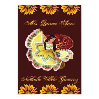 Mexican  - Burgundy Nathalie