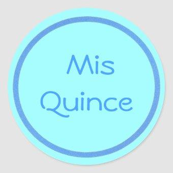 Mis Quince stickers