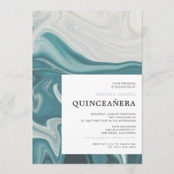 Modern Under The Sea Theme Quinceañera