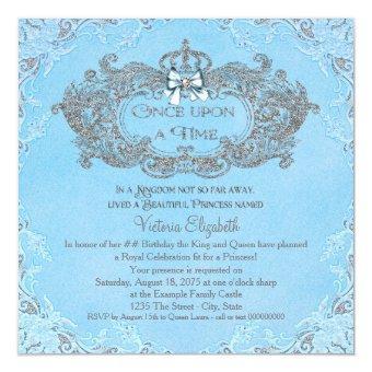 Once Upon a Time Cinderella Princess Birthday