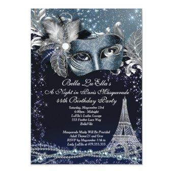 Paris Masquerade Birthday Event Party
