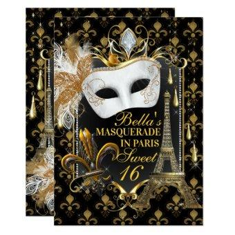 Paris Masquerade Birthday Party