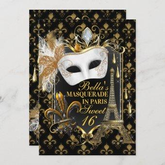 Paris Masquerade Birthday Party