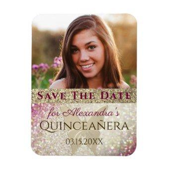 Photo Birthday Save The Date Magnet