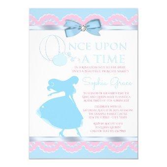 Pink Blue Cinderella Birthday Party