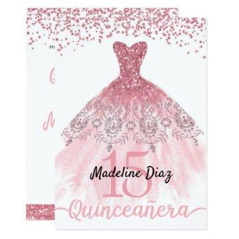 Pink Blush Birthday Invite