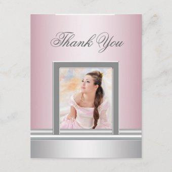 Pink Photo Thank You RSVP All Purpose