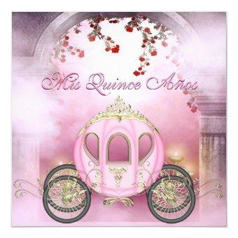 Pink Princess Carriage Enchanted