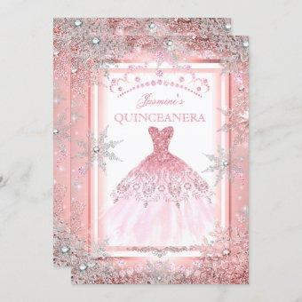 Pink Silver Winter Wonderland Party 2