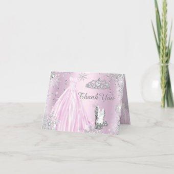Pink Sparkle Dress Tiara Thank You