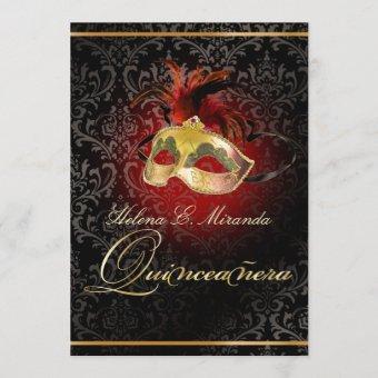 PixDezines MASQUERADE BALL/ROSSI DAMASK/DIY