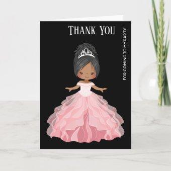 Princess party Gown Dresses Thank You