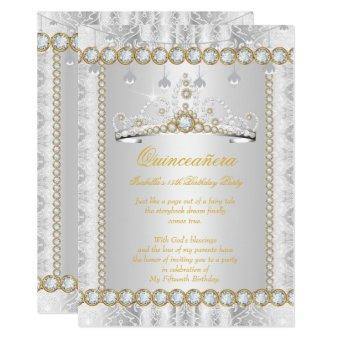 Princess Diamond Lace Gold Silver