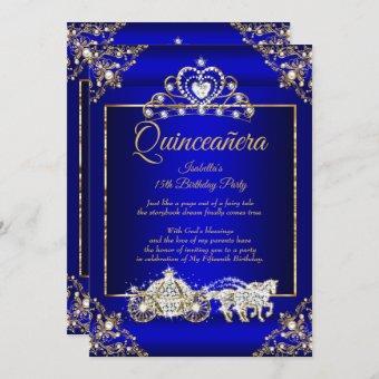 Princess Elite Royal Blue Gold