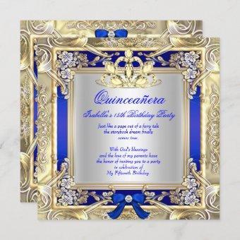 Princess Gold Royal Blue Silver 2
