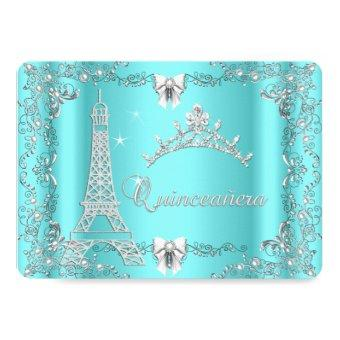 Princess Magical Teal Blue Silver