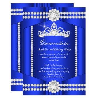 Princess Royal Blue Diamond Tiara