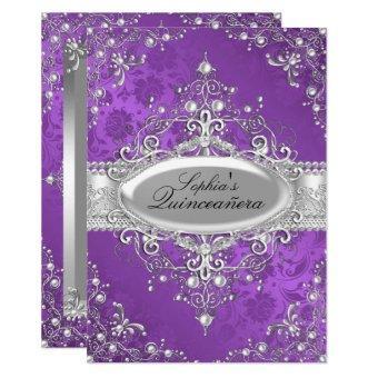 Purple Pearl Vintage Glamour
