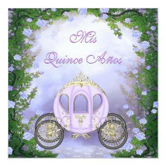 Purple Princess Carriage Enchanted