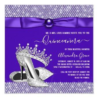 Purple Diamond Tiara Princess
