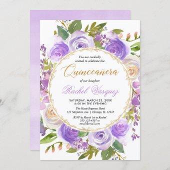 Purple floral lavender lilac