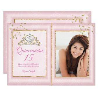 15th Birthday Blush Pink Gold Photo