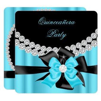 15th Blue Silver Black Bow Diamonds 2