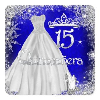 15th Blue Silver Snowflakes Party