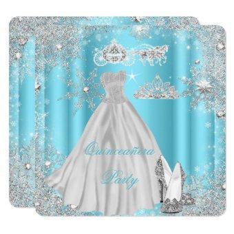 15th Cinderella Blue Birthday Party