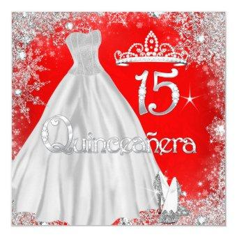 15th Red Silver Snowflakes Party