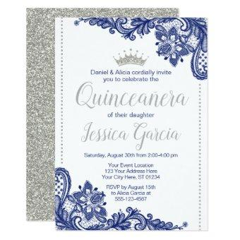 Quinceañera Birthday | Blue and Silver