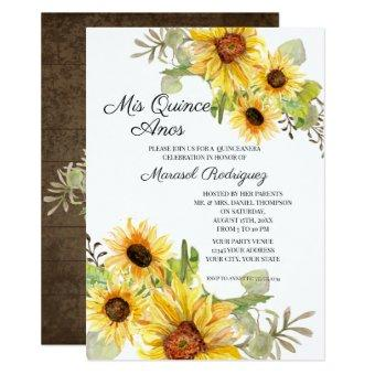Birthday Party Sunflower Fall Floral