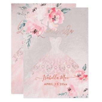 Blush Peonies+Gown Iridescent Bckgrnd