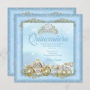 Cinderella Blue fairytale Carriage 2
