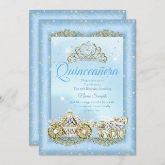Cinderella Blue fairytale Carriage