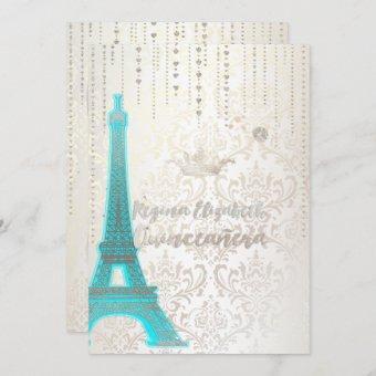 /Eiffel Blue/Princess/Crown