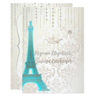 /Eiffel/Tiffany Blue/Princess/Crown