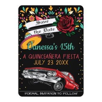 fiesta floral w/ lowrider & red rose