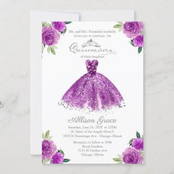 Bilingual Purple Blush Gown
