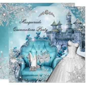 Masquerade Magical Princess Blue