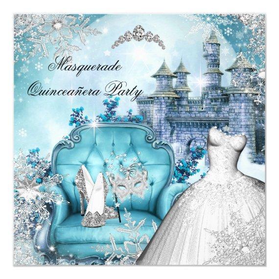 Masquerade Magical Princess Blue