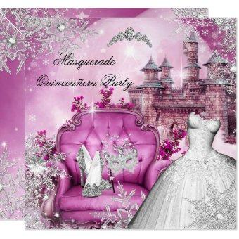 Masquerade Magical Princess Pink