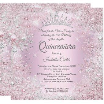 Party Pink Silver Winter Wonderland