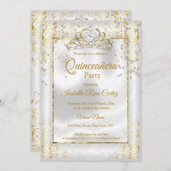 photo White Gold Tiara Diamond Heart