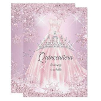 Pink Snowflake Winter Dress Tiara