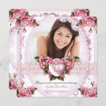 Pretty Pink White Rose Birthday 2