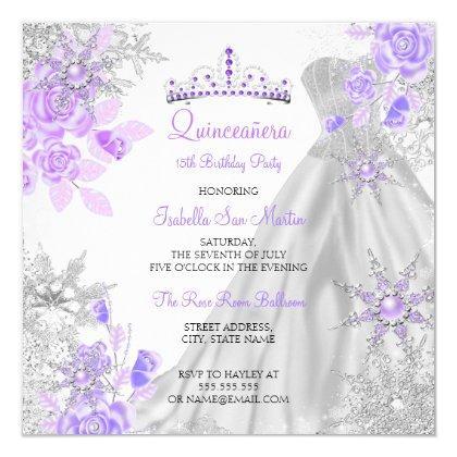 Purple Winter Wonderland Snowflake 2