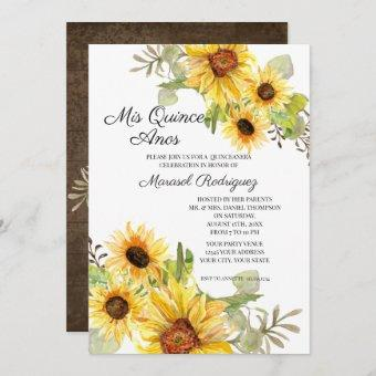 Sunflower Fall Floral Birthday Party